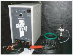 プラズマ切断機械の写真 ワンボックス